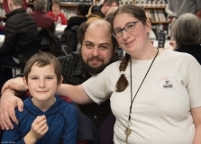 Steven (MWCIL) with his wife, Jessica and son Kenny