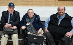Ed Carr, MWRTA and Paul Spooner, MWCIL and Joe Bellil of Easter Seals MA