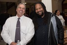 David Correia (MWCIL) and Courtland Townes (Boston CIL)