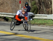 man wheelchair racer