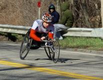 man wheelchair racer