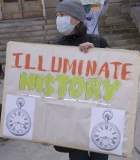 Protestor: Illuminate History