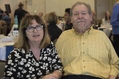 Karen Langley and Charlie Carr