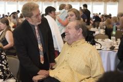 Jim Kruideneir and Charlie Carr