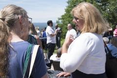 Ann Shor (l) and June Sauvageau
