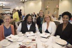 l-r: Ann Shor, Courtland Townes III and June Sauvageau