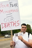 Your fear mongering = Our deaths