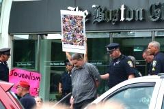 Justin Brown arrested