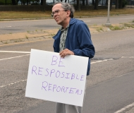 Be Responsible Reporters