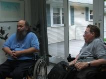 Roland and Paul Spooner