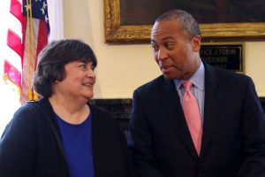 Rose and Governor Patrick