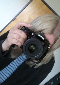 Sue and camera