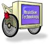computer monitor on wheels