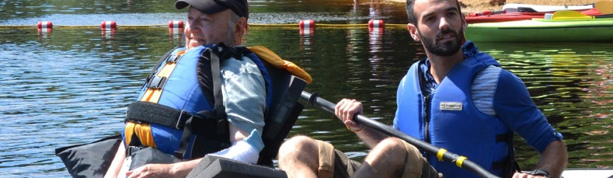 Tom Kayaking at 2013 ADA