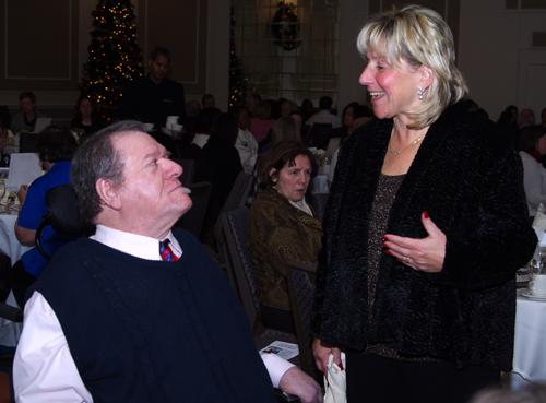 Charlie Carr and Senator Spilka